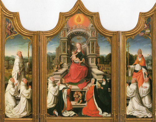 クリスマスカード/The Le Cellier Altarpiece